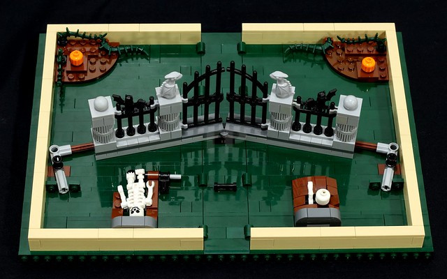 Build This Halloween Extension For The Lego Pop Up Book Toypro Com