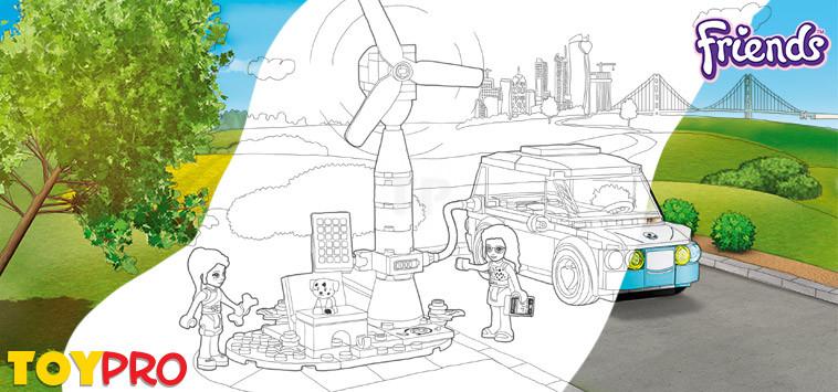 Lego Friends Ausmalbilder Kostenlos Herunterladen Und Ausmalen Toypro Com