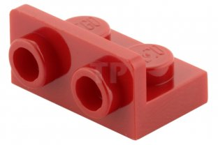 bracket plate 1x2 new angle new 4 x lego 99780 support plate red, red