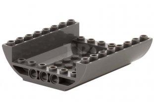 Lego Duplo Baseplate 8 X 8 Flat 1 Dark Gray