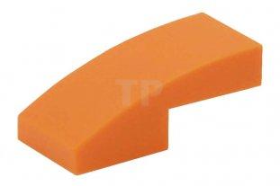 Brick Curved 1x2 Slope NEUF NEW 4 x LEGO 11477 Brique Courbée jaune, yellow