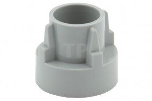 Lego Lot of 50 Light Bluish Gray Technic Driving Ring Extension