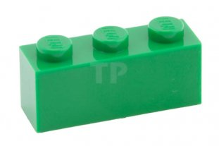 Lego Green Brick 1x3 10 pieces NEW!!!