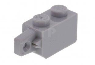 Lego Lot of 50 New Dark Bluish Gray Hinge Plates 1 x 2 Locking with 1 Finger