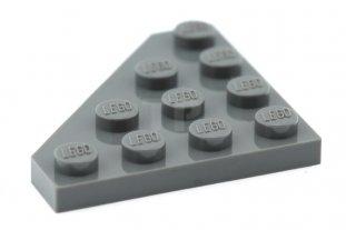 Lego 50 New Dark Bluish Gray Wedges Plates 2 x 2 Cut Corner Pieces