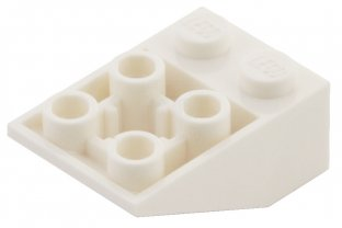 Lego 3747b inverted 33 3x2-white//white-new 6x brick roof//slope
