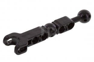 LEGO~2 Hero Factory Arm//Leg w BallJoint on Axle /& Ball Socket /& Pin 90605 BLACK