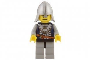 Lego NEW Castle Fantasy Era Knight Minifig 2 sided head