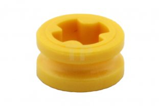 LEGO 50pcs NEW Yellow Technic 1x1 Axle Bushing Ring Bulk Lot 6271167 4239601