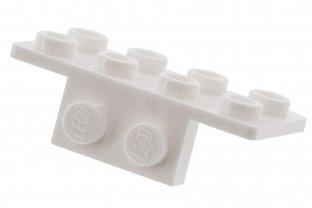 LEGO 93274 BRACKET 1x2-2x4 QTY 10 BLACK BRAND NEW