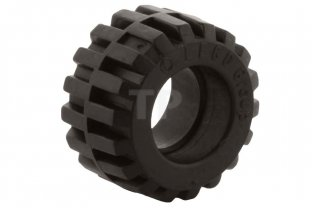 Main image for LEGO Tire 21mm D. x 12mm - Offset Tread Small Wide, Band Around Center of Tread