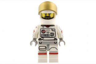 Main image for LEGO Astronaut - Minifig only