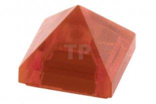 10 NEW LEGO Slope 45 1 x 1 x 2//3 Quadruple Convex Trans-Orange