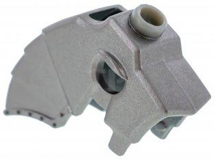 Lego Metallic Silver Horse Battle Helmet Unicorn With Horn