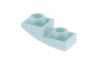 Main image for LEGO Slope, Curved 2 x 1 Inverted