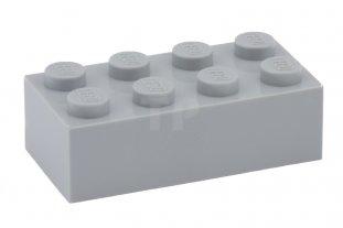 Motor LEGO - Light Bluish Gray Duplo Engine Block