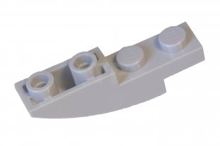 Lego 5 New Dark Azure Slopes Sloped Curved 4 x 1 Inverted Pieces