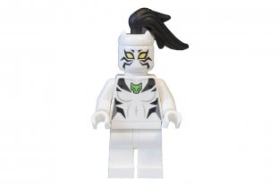 LEGO SUPER HEROES MINIFIGURE SPIDER-MAN WHITE TIGER WITH DISC 76059