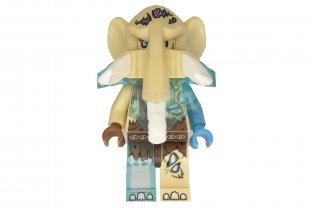 Lego Mottrot Minifigure from set 70226 Legends of Chima Mammoth NEW loc159