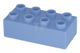 4 4x4 Blue Lego Wing Corner Plate Bricks NEW Parts