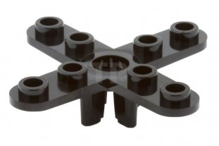 Lego Lot of 5 New Black Propeller 3 Blade Small  Parts Pieces