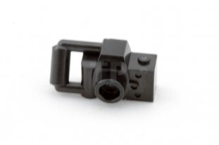 Lego Minifig Camera : Black minifig utensil camera handheld style type 2 4106552 part