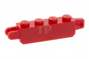 Main image for LEGO Hinge Brick 1 x 4 Locking with 1 Finger Vertical End and 2 Fingers Vertical End