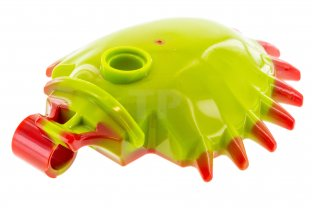 Main image for LEGO Venus Flytrap Shell with Red Spikes Pattern