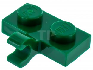 Main image for LEGO Plate, Modified 1 x 2 with Clip Horizontal on Side