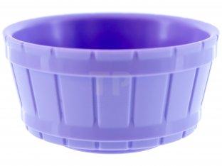 Barrel Half Large w// Axle Hole LEGO Lavender Container