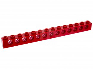 Main image for LEGO Technic, Brick 1 x 14 with Holes