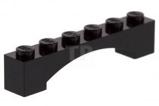 gris dark grey 4 x LEGO 92950 Brique Arche Brick 1x6 Raised Arch NEUF NEW