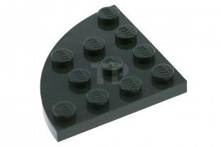 Donker groen plaat rond hoek 4 x 4 4505976 4629681 onderdeel lego - Plaat hoek bakken ...