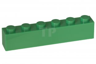 jaune 6 pièce Basic 3009 --- 1 x 6 LEGO