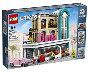 LEGO Downtown Diner - 10260