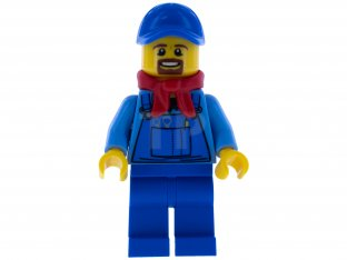 Main image for LEGO Winter Holiday Train Locomotive Driver