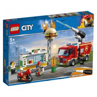 Main image for LEGO Burger Bar Fire Rescue