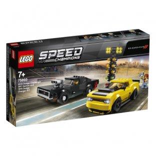 Main image for LEGO 2018 Dodge Challenger SRT Demon and 1970 Dodge Charger R/T
