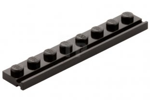 Lego Choose Quantity Plate Plaque 1x8 8x1 Door Rail 4510 Dark Bluish Gray