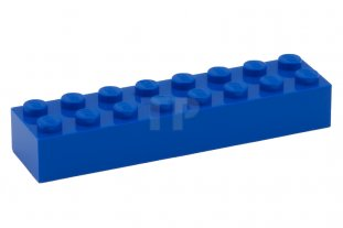 LEGO Black Brick 2x8 10 to 25 Pieces