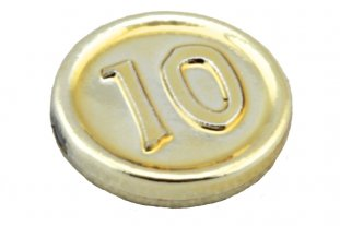 Main image for LEGO Minifig, Utensil Coin Type 3 with 10 Mark