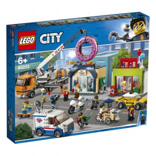 Main image for LEGO Donut shop opening