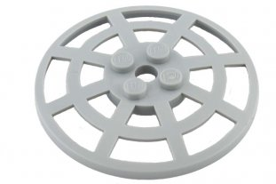 Lego 50 New Trans-Light Blue Dish 6 x 6 Inverted Radar Webbed Parts