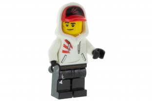 Branson NEUF NEW LEGO Minifigure Figurine Hidden Side HS006 Mr