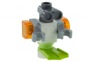 Main image for LEGO Friends Zobo the Robot, Lime Flipper