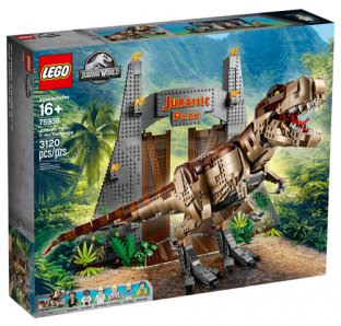 Main image for LEGO Jurassic Park: T. rex Rampage