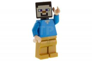 Main image for LEGO Steve - Pearl Gold Legs