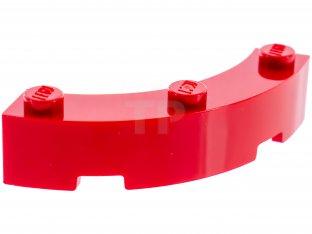 Lego 4x Tile Round plaque lisse corner macaroni 2x2 rose//bright pink 27925 NEW