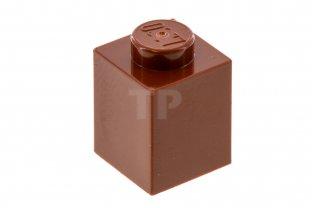 LEGO® Reddish Brown Brick 1 x 1 Design ID 3005
