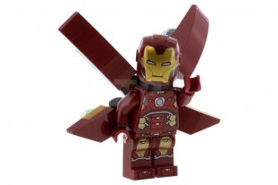 Main image for LEGO Iron Man with Silver Hexagon